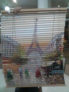 Persiana horizontal sobre Paris