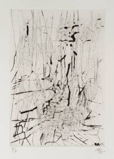 Artwork page for '[no title]', Per Kirkeby, 1995 Painting Collage, Painting & Drawing, Paintings, Contemporary Abstract Art, Abstract Landscape, Abstract Drawings, Art Drawings, Intaglio Printmaking, Ancient Art