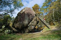 Bowder Stone, Grange in Borrowdale, the Lake District National Park, Cumbria, England Republic Of Ireland, English Countryside, Cumbria, Where The Heart Is, Lake District, British Isles, Days Out, Britain, Scenery
