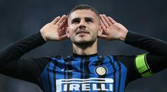 Mauro Emanuel Icardi of FC Internazionale Milano celebrates his goal during the Serie A match between FC Internazionale and UC Sampdoria at Stadio Giuseppe Meazza on October 24, 2017 in Milan, Italy.