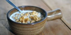 Sugared Oatmeal with Barley