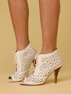 Free People Cut Out Eyelet Bootie, $0.00