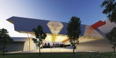 tiered IFMG court canopy unobtrusively protects athletes and spectators