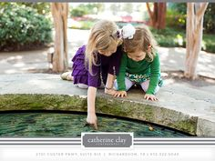 sibling pictures, Dallas Arboretum pictures, fall what to wear ideas, children photography // Dallas photographer Catherine Clay