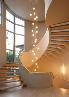 Light for Stairways With Beautiful Lighting tag: led light for stairways, light fixtures for stairways, , staircase light, hanging light fixtures for Staircase Lighting Ideas, Stairway Lighting, Hallway Lighting, Staircase Design, Bedroom Lighting, Spiral Staircase, Ceiling Lighting, Bocci Lighting, Stairwell Chandelier