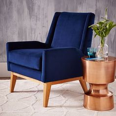 "Frankie Chair #westelm - $399 -   27.5""w x 29.5""d x 32.5""h. Solid wood legs in Almond finish. Imported. Online/catalog only."