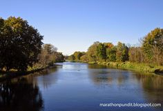 DuPage River in Channahon, Illinois