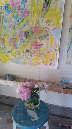 Sharon Barr Studio  www.sharonbarr.ca Texture Painting, Texture Art, Abstract Oil, Beautiful Images, Still Life, Oil On Canvas, Lucy Williams, Artsy, Ink
