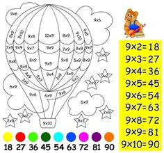 Maths Worksheets Ks2, Math Coloring Worksheets, Math Activities, Daily Schedule Kids, Math Tables, Math Multiplication, Christmas Math, Alphabet Crafts, Simple Math