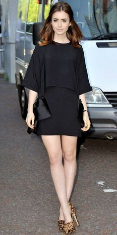 Lily Collins London