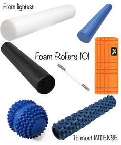 Foam Rolling Day to give your muscles a massage. A foam roller is a tool you can use at home to reduce stress. Try it & see if it works for you. More at GotMyHappy.com