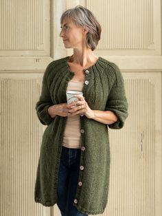 Cardigan Pattern, Sweater Knitting Patterns, Free Knitting, Pullover Design, Sweater Design, Mohair Sweater, Wool Cardigan, Crochet Top Outfit, Knit Fashion