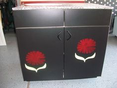 Beautiful Poppy Cabinet - by Feather Thy Nest on Etsy.com