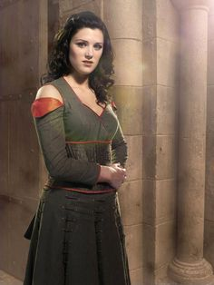 Lucy Griffiths as Maid Marian BBC's Robin Hood (detail)