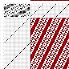 draft image: Figure 6293, An Album of Textile Designs, Thos. R. Ashenhurst, 16S, 32T