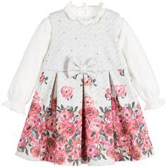 Minibanda - Baby Girls Pink 2 Piece Dress Set   Childrensalon