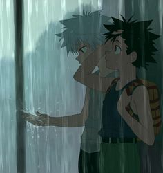 Killua and Gon Killua, Hunter x Hunter