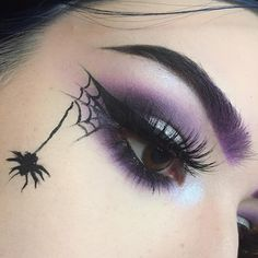 """107 Likes, 5 Comments - Gallery Serpentine (@galleryserpentine) on Instagram: """"What a fantastic makeup idea for anyone heading out for Halloween! #gothicmakeup #wingedliner…"""""""