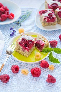 Imádunk sütni - Málnás-banános sütemény French Toast, Breakfast, Food, Morning Coffee, Essen, Meals, Yemek, Eten