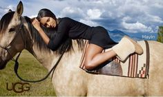 Inspiration for photo shoot with horse