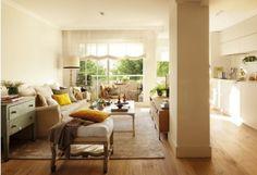 Una casa de 80 metros muy bien aprovechada | Ideas para Decoracion