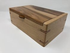 This hand-crafted hickory keepsake box makes the perfect gift!