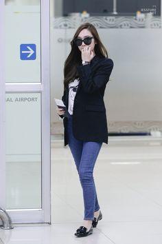 Jessica Arrived Gimpo Airport Back From Haneda Japan Snsd Airport Fashion, Kpop Fashion, Fashion 2018, Daily Fashion, Korean Fashion, Jessica Jung Fashion, Jessica & Krystal, Korean Celebrities, Airport Style
