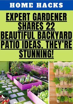 Garden Yard Ideas, Veg Garden, Garden Planters, Indoor Garden, Garden Projects, Outdoor Gardens, Patio Ideas, Backyard Patio, Backyard Landscaping
