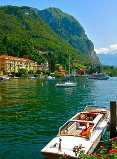 Bellagio Italie qui se trouve au lac de Côme ; un lac en Italie du nord