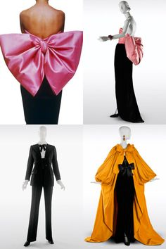 Yves Saint Laurent - The Retrospective #fashion #vintage