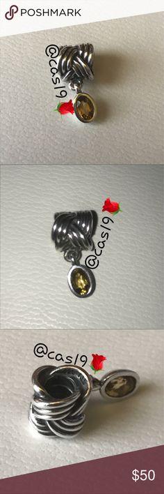 2f8f1b892 Quartz dangle Amethyst dangle SOLD SEPARATELY 🎀Genuine pandora 🎀 🎀All my  items are Pre