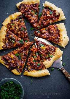 Turkey BBQ Pizza