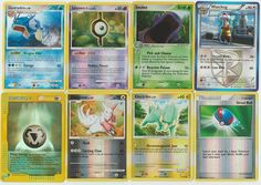 Pokemon lot of 8 cards WITH RARES ALL PICTURED Not Perfect with Gyarados 26/123 Pokemon Tcg Cards, Pokemon Go, Christmas List 2016, All Pictures, Trading Cards, Elf, Awesome, Places, Elves