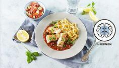 Steinbit er fisk som inneholder mye jod som er bra for hjernen. Sammen med tilbehøret har du en oppskrift proppet full av gode næringsstoffer som er bra for deg.