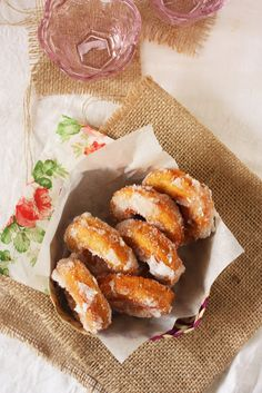 MALAYSIAN SWEET POTATO DOUGHNUTS ~ KUIH KERIA