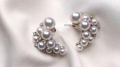 How to Wear and Pair Your Pearl Earrings Pearl Earrings Wedding, Bridesmaid Earrings, Bridal Earrings, Pearl Jewelry, Wedding Jewelry, Beaded Jewelry, Silver Earrings, Silver Jewelry, Drop Earrings