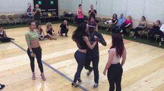 Enah Lebon VS 4 dancers in Italy