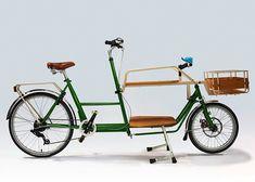 cargo この自転車でキャンプとかピクニックに出かけたいね!