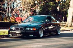 Anthony Care's BMW E36 coupe on cult classic BBS RS212 RS197 wheels (8,5x17 ET13, 9,5x17 ET13)