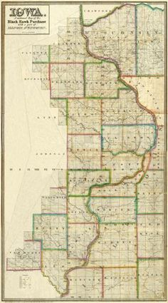 L. Judson - Iowa, 1838 - Fine Art Print