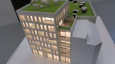 Project Antwerp - 3d printed scale model by ZiggZagg - 3dprinting