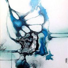 """Saatchi Kunstenaar Rikke Darling;  Schilderen, """"Puzzle"""" #art"""