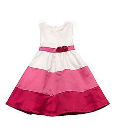 Rare Editions 2T6X Colorblock Dress #Dillards