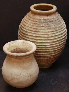 Large Greek Garden Urn or Oil Jar Garden Urns, Garden Planters, Outdoor Rooms, Outdoor Gardens, Greek Garden, 2 Gallons, Modern Planters, Large Pots, Greek Art