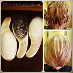 #Divine brushes - detangle wet and dry hair. Perfect for summer weather and activities! #OliviaGarden #BeautyTools