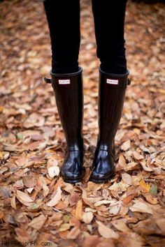 Hunter boots. Want!!!