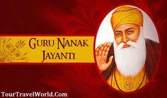 May you find happiness and peace with the blessings of #GuruNanakDev. Happy Gurunanak Jayanti - #TourTravelWorld  #GuruNanakJayanti #Gurupurab #GuruNanak #waheGuru