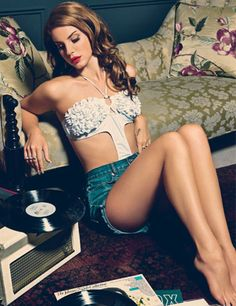 Lana Del Ray - retro and raunchy