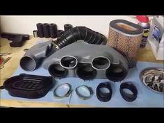 Triumph Rocket Ramair Fitting - YouTube