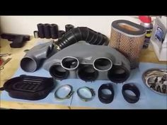Triumph Rocket Ramair Fitting - YouTube